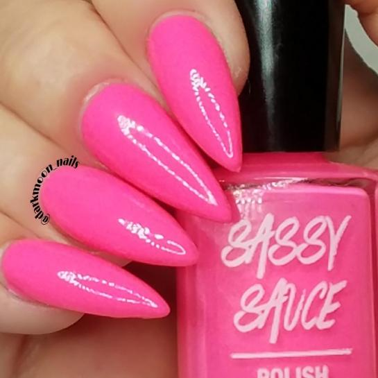 Sassy April Hot Pink