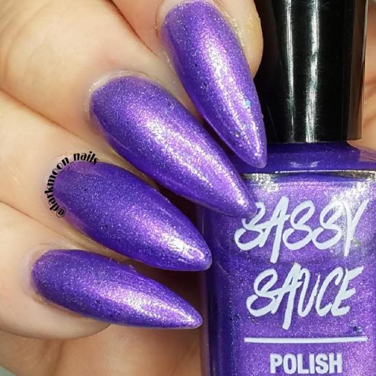Sassy April Purple