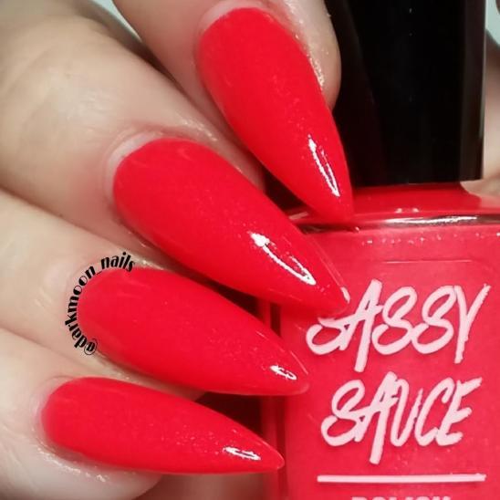 Sassy April Red